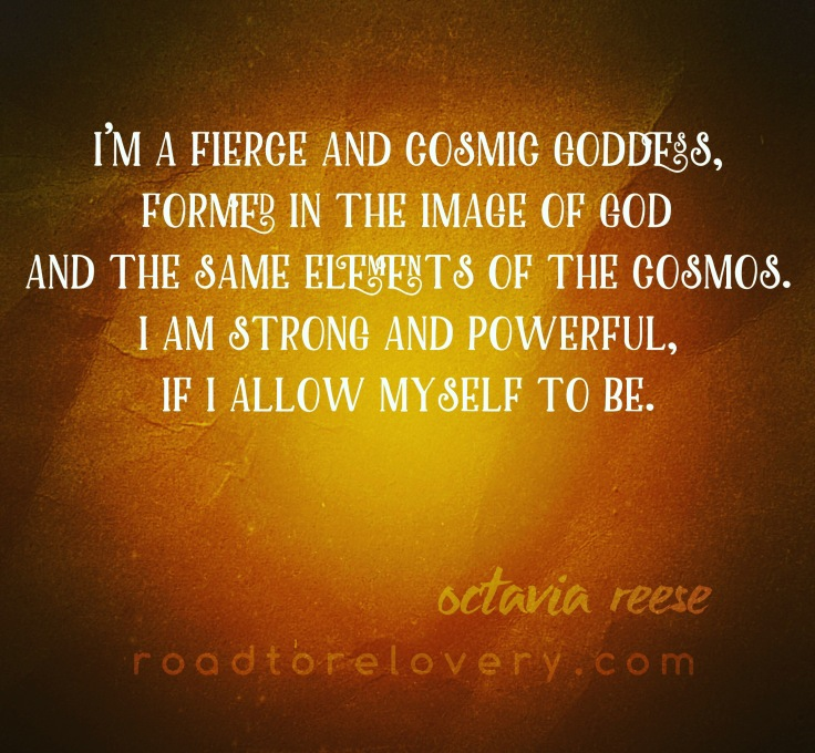 Octavia reese cosmic goddess allow the magic
